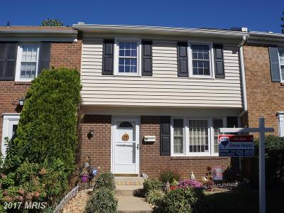 Gaithersburg Townhouse For Sale: 35 Big Acre Square #20-9