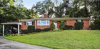Potomac Single Family Home For Sale: 9224 Farnsworth Drive