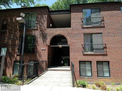 Takoma Park Condo For Sale: 609 Hudson Avenue #126