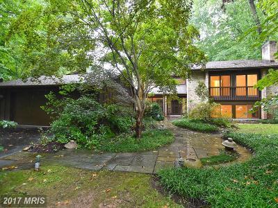Bethesda Single Family Home For Sale: 8500 Carlynn Drive