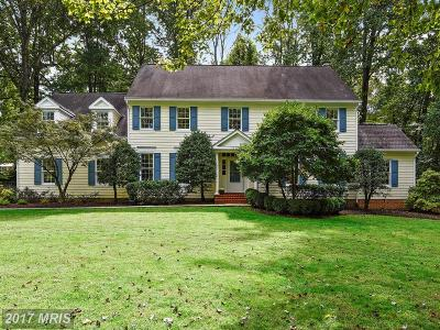 Rockville Single Family Home For Sale: 16213 Emory Lane