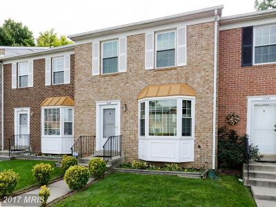 Gaithersburg Townhouse For Sale: 1144 Knoll Mist Lane
