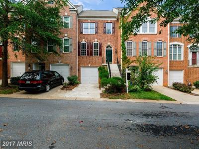 Germantown Townhouse For Sale: 6 Town Commons Court