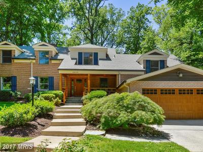 Bethesda Single Family Home For Sale: 6604 Tulip Hill Terrace
