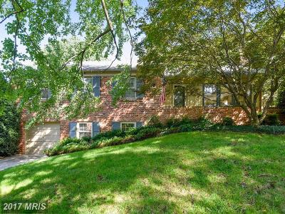 Bethesda Single Family Home For Sale: 5615 Lamar Road