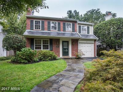 Bethesda MD Single Family Home For Sale: $1,060,000