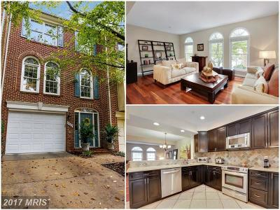 Bethesda Townhouse For Sale: 5527 Whitley Park Terrace