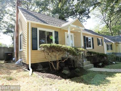 Silver Spring Single Family Home For Sale: 908 Heron Drive