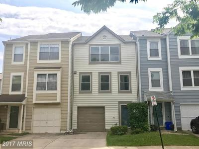 Gaithersburg Townhouse For Sale: 11116 Weatherburn Place
