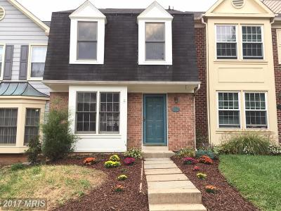 Montgomery Village Townhouse For Sale: 8 Fountain Valley Court