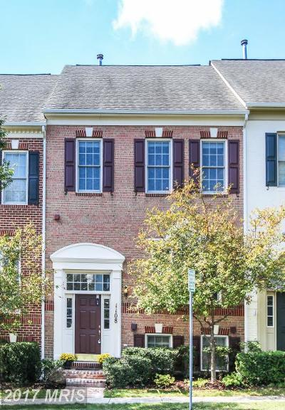Rockville Townhouse For Sale: 1108 Grand Champion Drive