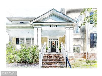 Chevy Chase Single Family Home For Sale: 7003 Brookville Road