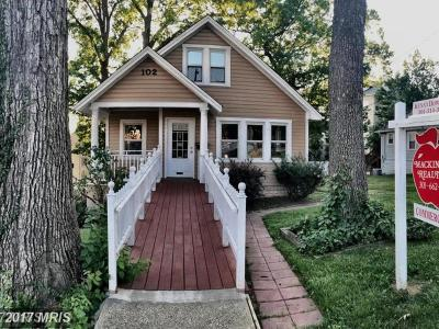 Gaithersburg Single Family Home For Sale: 102 Summit Avenue N