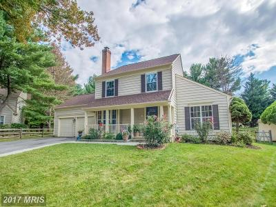 Gaithersburg Single Family Home For Sale: 20704 Bountyfield Court