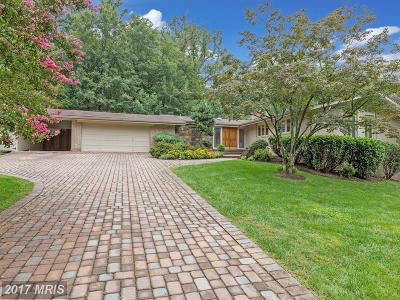 Bethesda Single Family Home For Sale: 7400 Arrowood Road