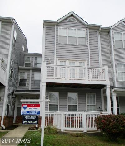 Germantown Townhouse For Sale: 21 Crusader Court