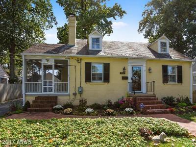 Bethesda Single Family Home For Sale: 4616 N. Chelsea Lane