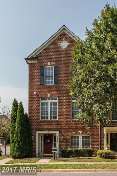 Gaithersburg Townhouse For Sale: 553 Kersten Street