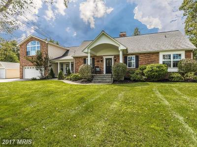 Rockville Single Family Home For Sale: 5707 Achille Lane