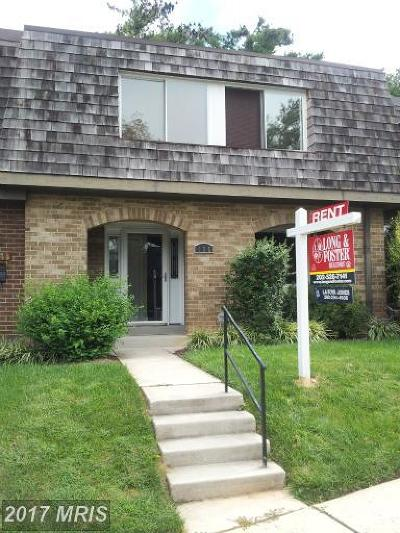 Gaithersburg Condo For Sale: 436 West Deer Park Road #9-B