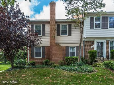 Brookeville, Olney Townhouse For Sale: 3351 Buehler Court #99