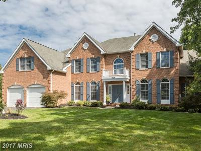 Rockville Single Family Home For Sale: 10200 Cross Haven Court