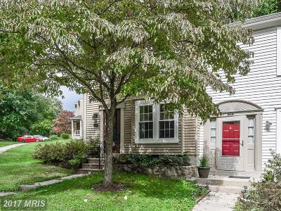 Silver Spring Townhouse For Sale: 1347 Alderton Lane