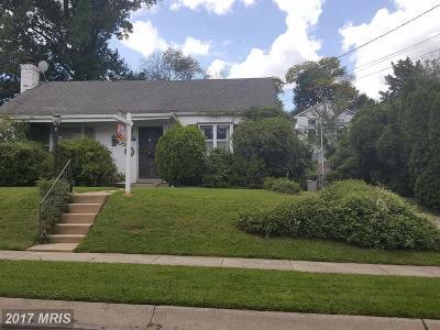 Kensington Single Family Home For Sale: 4409 Edgefield Road