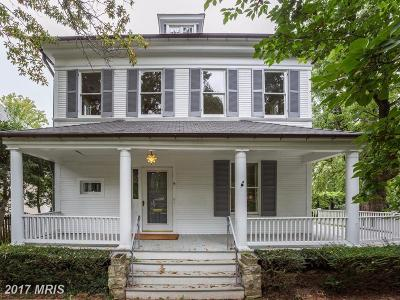 Chevy Chase Single Family Home For Sale: 9 Irving Street