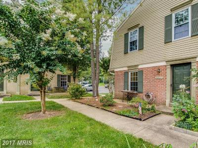 Silver Spring Townhouse For Sale: 10317 Dutch Ship Court