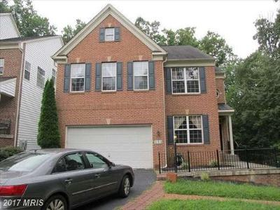 Gaithersburg Single Family Home For Sale: 301 Hidden Forest Court