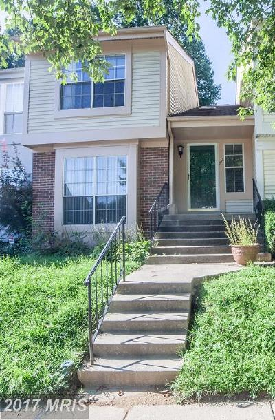 Silver Spring Townhouse For Sale: 1518 Casino Circle