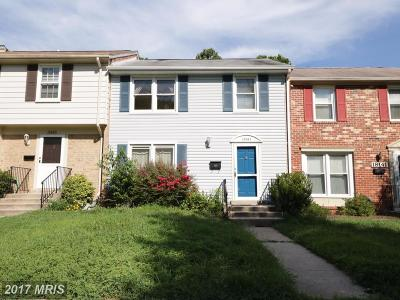 Germantown Townhouse For Sale: 18143 Metz Drive