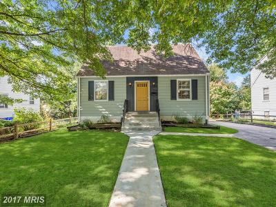 Silver Spring Single Family Home For Sale: 12408 Flack Street
