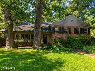 Rockville Single Family Home For Sale: 10008 South Glen Road