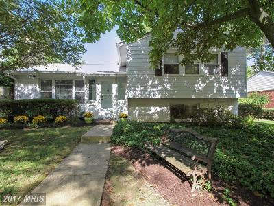 Silver Spring Single Family Home For Sale: 1513 Woodman Avenue