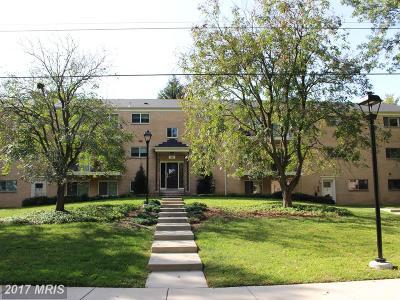Bethesda Condo For Sale: 10618 Montrose Avenue #104