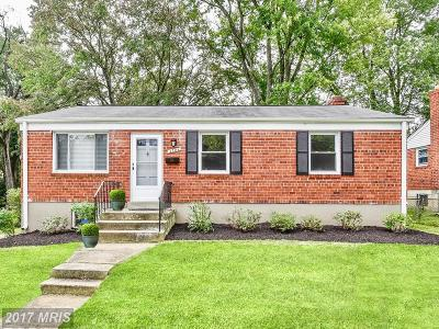 Rockville MD Single Family Home For Sale: $410,000
