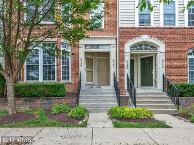 Gaithersburg Single Family Home For Sale: 628 Frogs Leap Lane #628