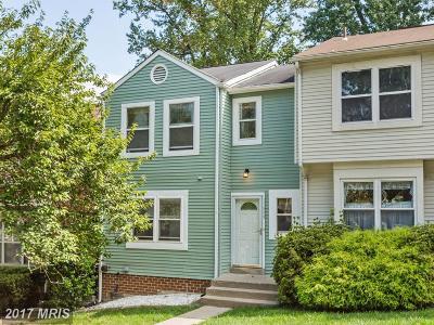 Germantown Townhouse For Sale: 11809 Summer Oak Drive