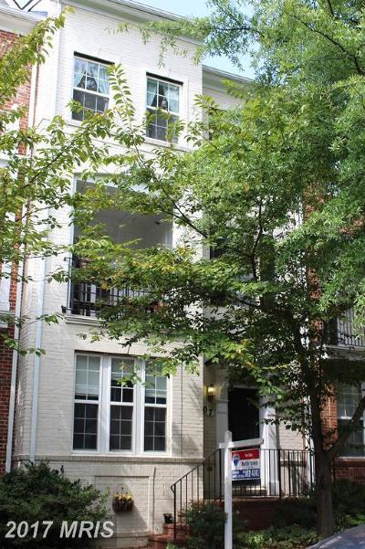 Rockville Townhouse For Sale: 607 Ridgemont Avenue