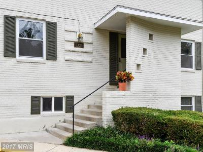 Bethesda Townhouse For Sale: 5333 Pooks Hill Road