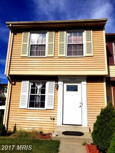 Germantown MD Townhouse For Sale: $232,000