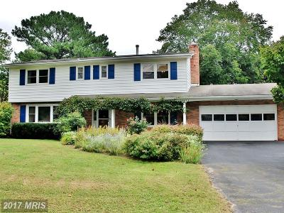 Silver Spring Single Family Home For Sale: 14625 Notley Road