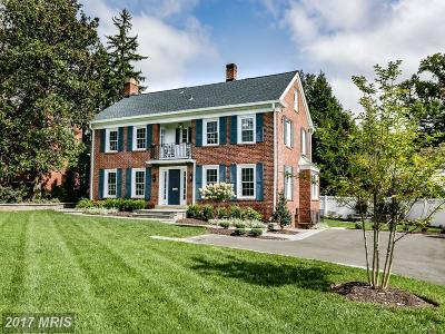 Single Family Home For Sale: 6001 Massachusetts Avenue