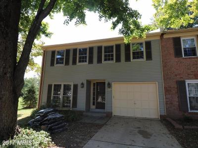 Gaithersburg Townhouse For Sale: 9400 Amboy Road