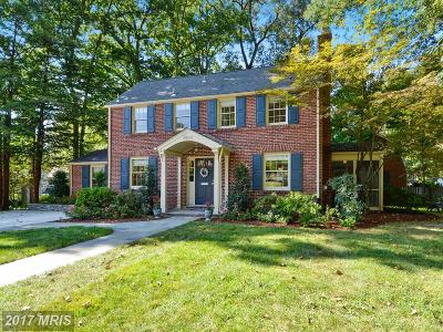 Bethesda MD Single Family Home For Sale: $879,000
