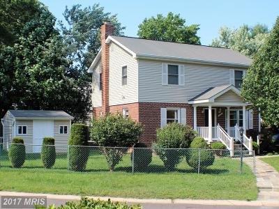 Silver Spring Single Family Home For Sale: 1401 Windham Lane