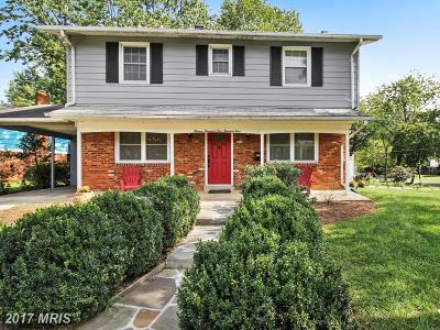 Silver Spring Single Family Home For Sale: 11501 Alma Street