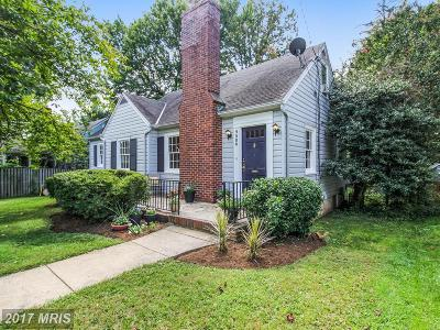 Silver Spring Single Family Home For Sale: 9506 Evergreen Street